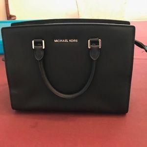 Michael Kors Large Selma leather satchel
